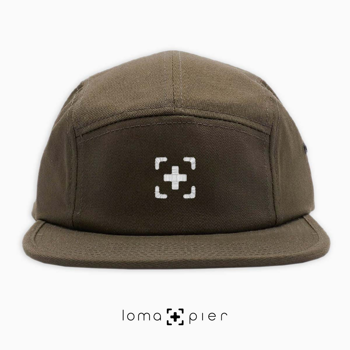 iconic 5-panel hat in green by loma+pier hat store