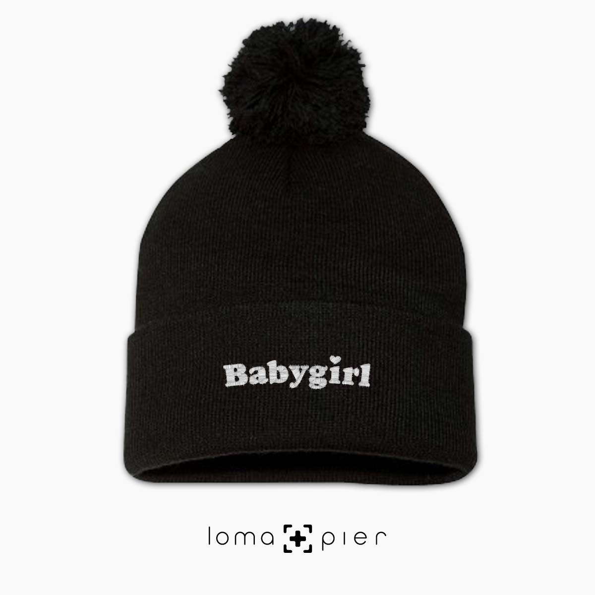 BABYGIRL beanie cap by the loma+pier hat shop