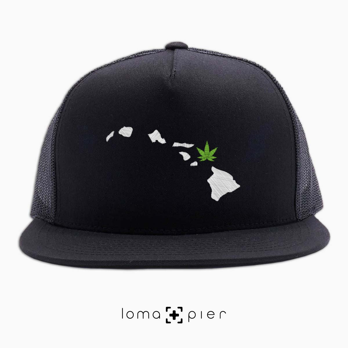 MAUI-juana hawaii weed beach netback hat by loma+pier hat shop