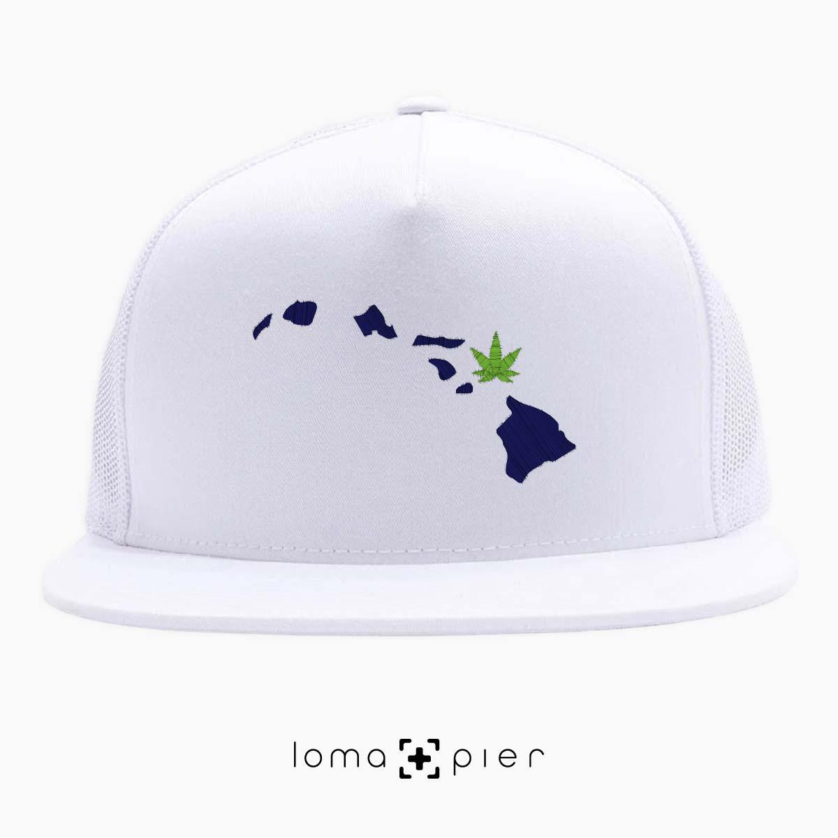 MAUI-juana hawaii weed beach netback hat by loma+pier hat shop