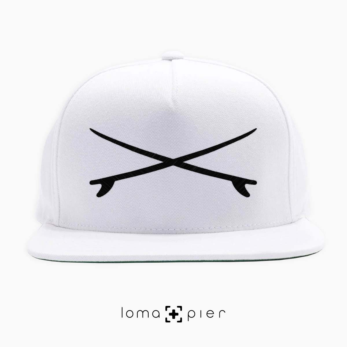 X MARKS THE SURF el porto beach hat in white by loma+pier hat store