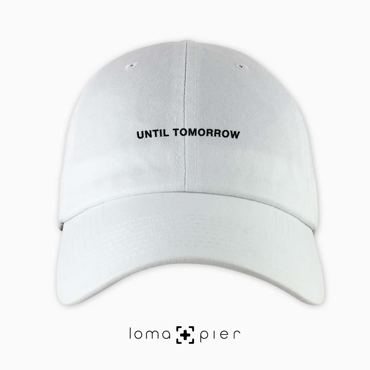 UNTIL TOMORROW trending instagram hat by loma and pier hat shop