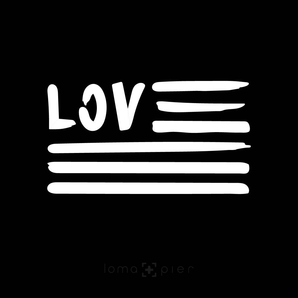 AMERICAN LOVE design by loma+pier