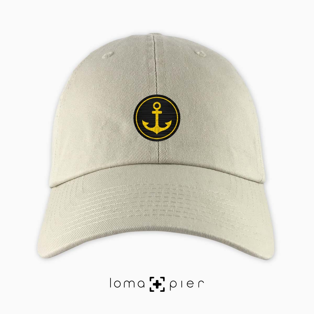 ANCHOR icon dad hat in khaki by loma+pier hat store