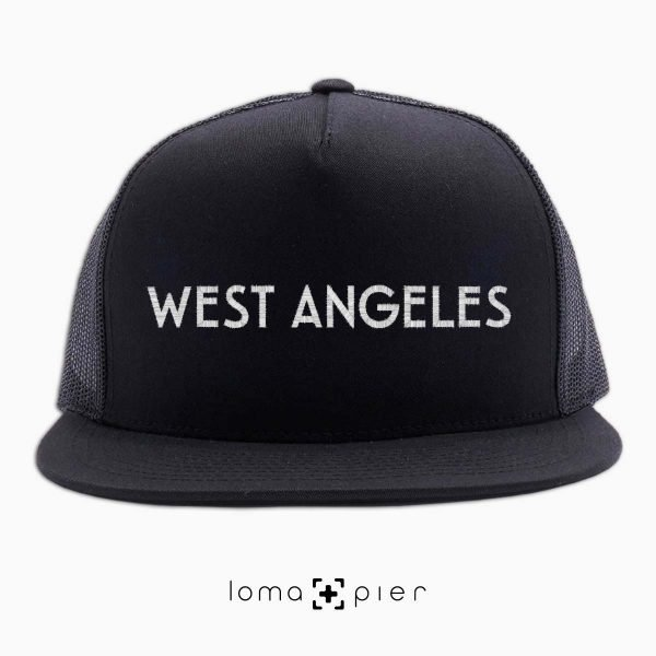 WEST ANGELES beach netback hat by loma and pier hat shop