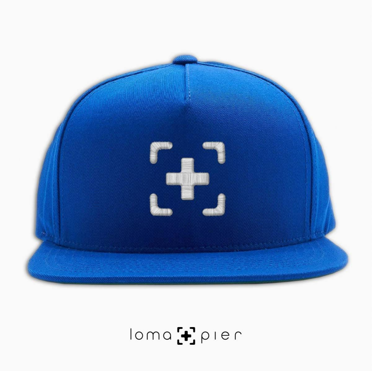 classic snapback cap in royal blue by loma+pier hat shop