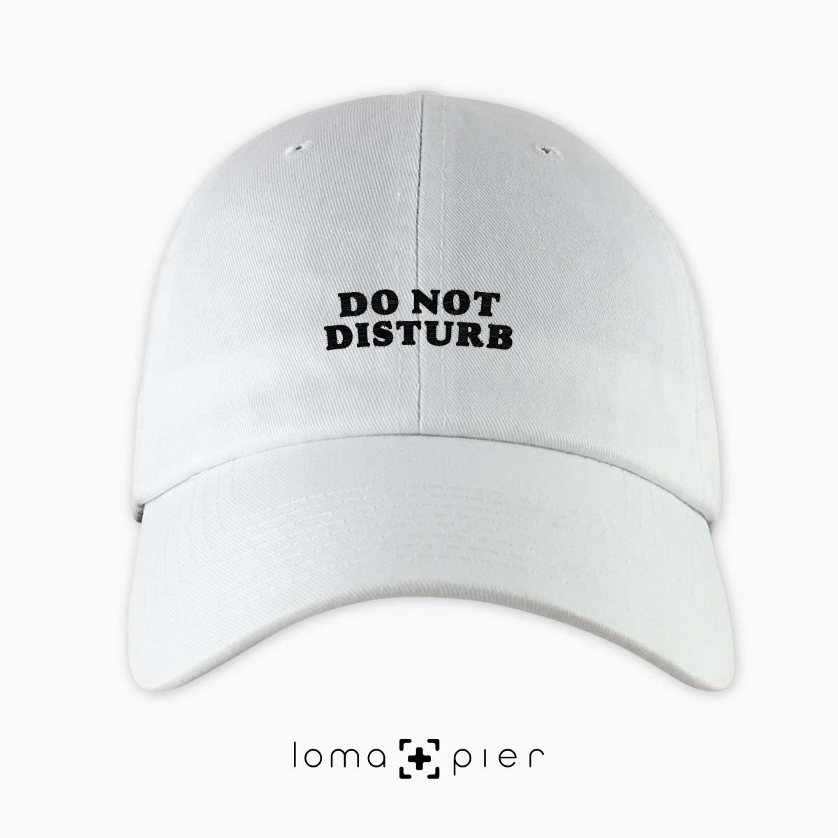 DO NOT DISTURB pessimistic hat by loma+pier hat store
