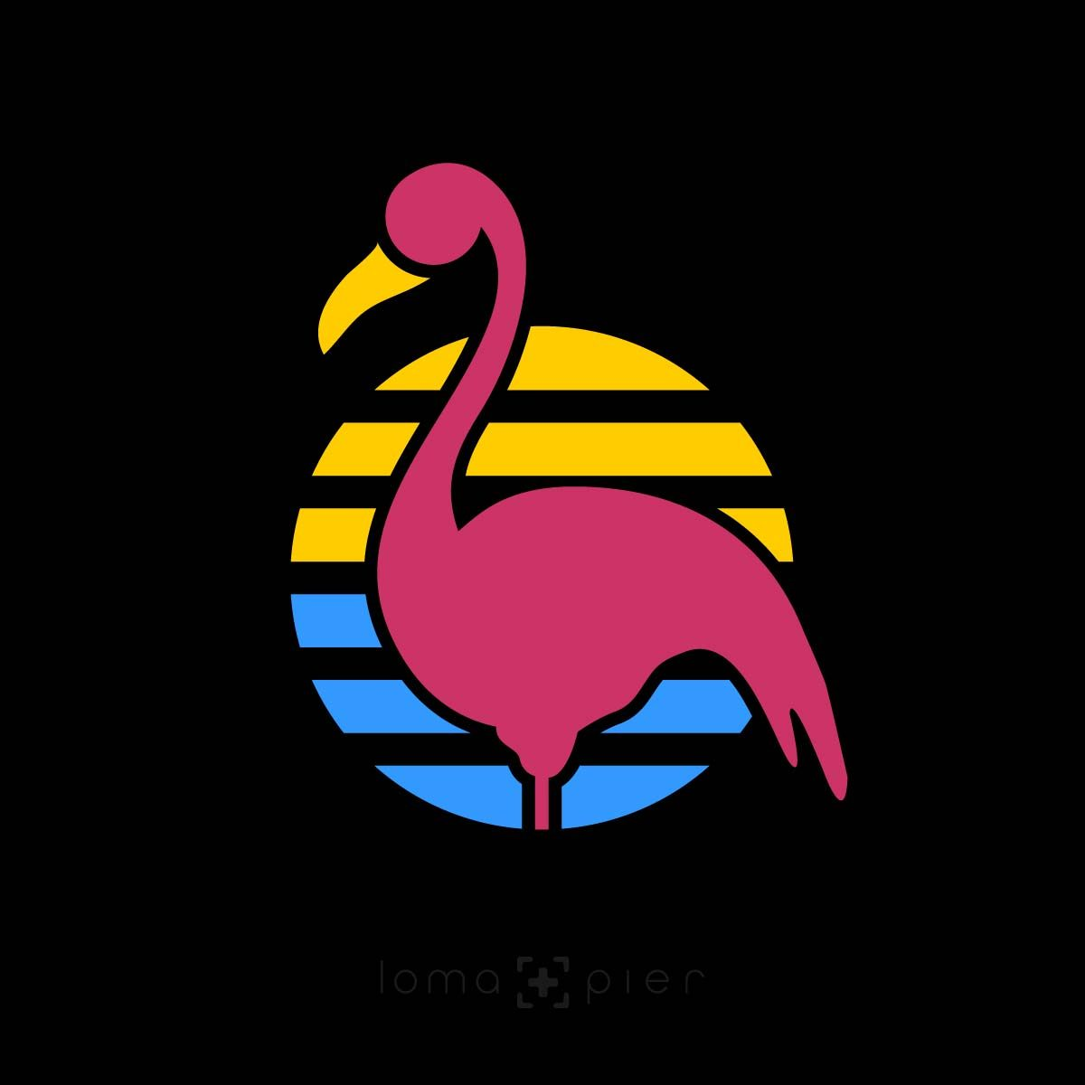 FLAMINGO icon in the loma+pier hat store