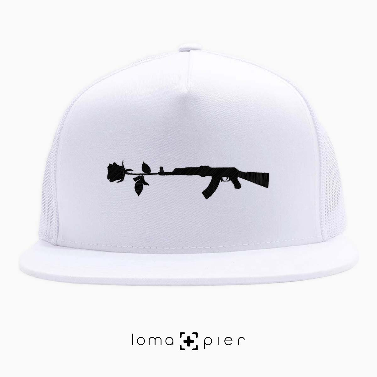 GUN and ROSE icon netback hat by loma+pier hat shop