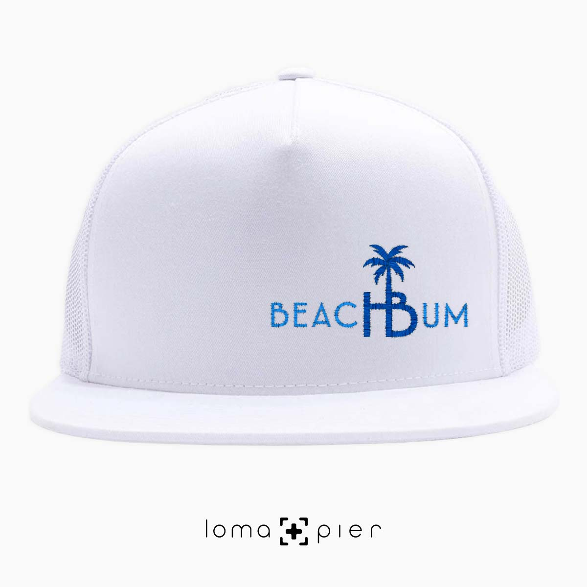hermosa beach bum netback hat by loma and pier hat shop