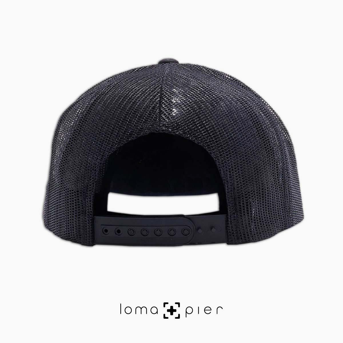 loma+pier beach netback trucker hats