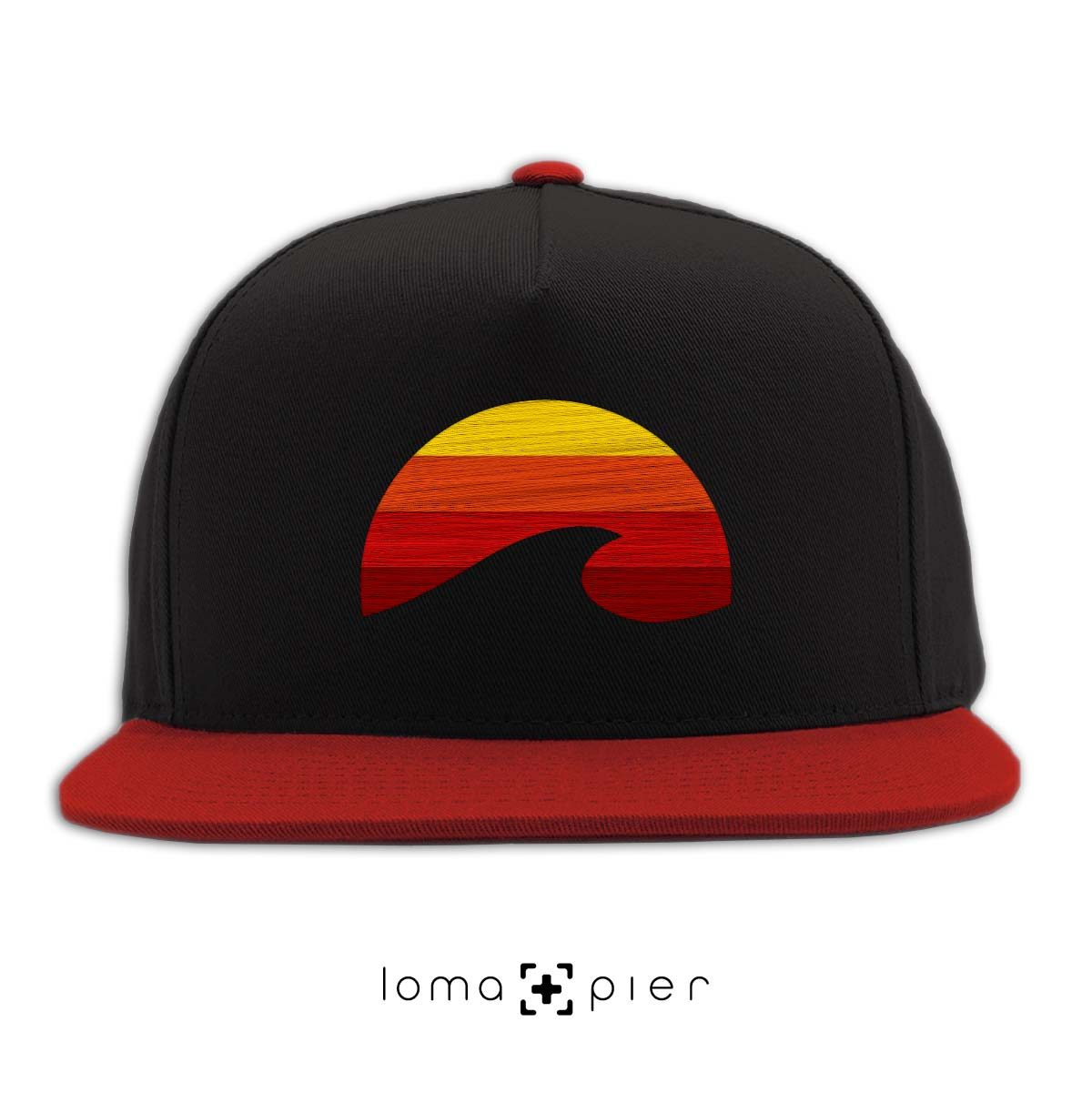 PACIFIC SUN hat in black red by loma+pier hat store