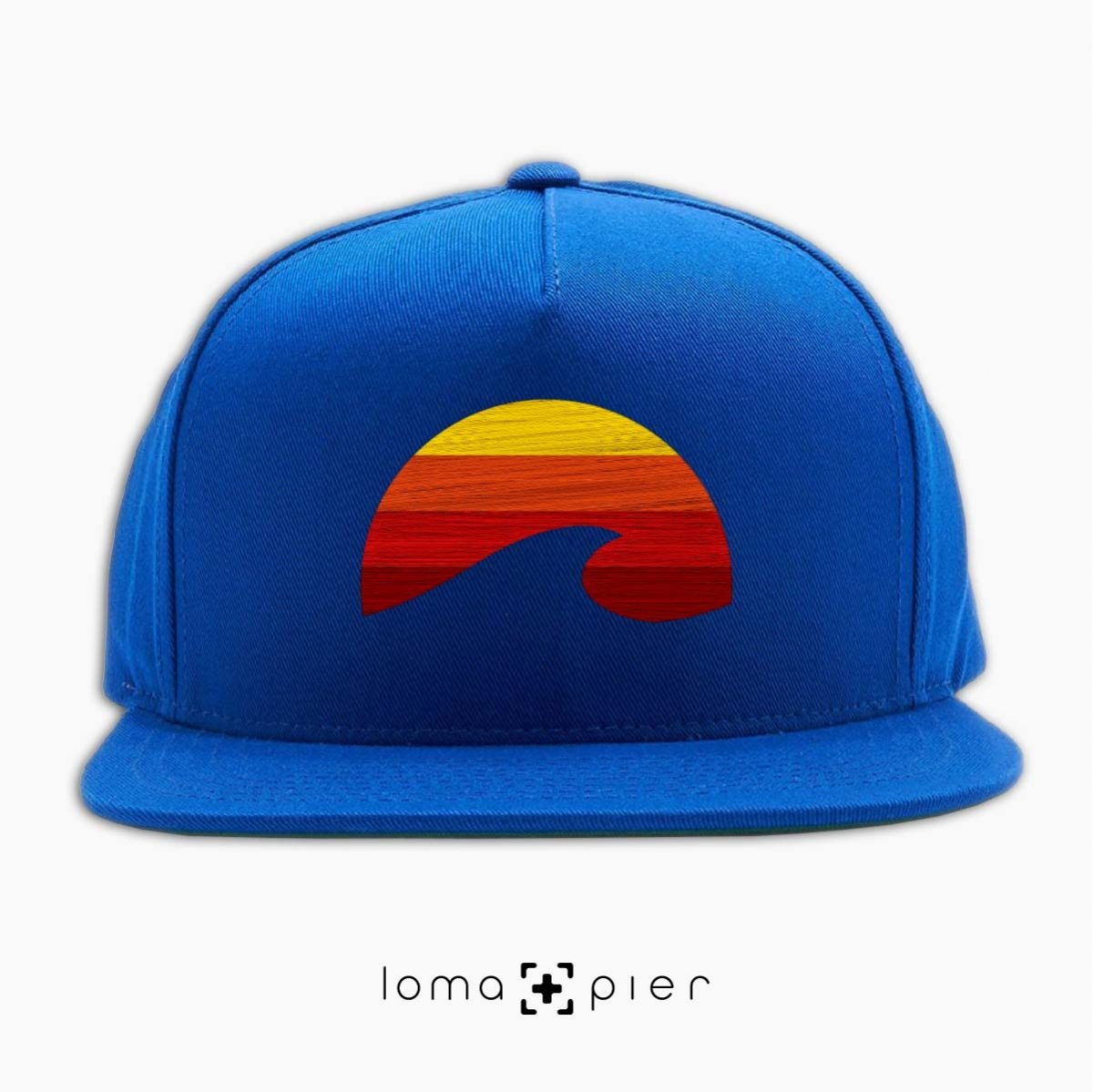 PACIFIC SUN hat in royal blue by loma+pier hat store