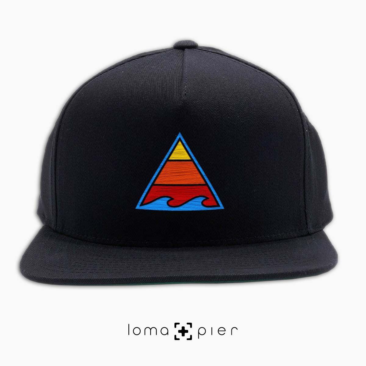 RIDE THAT WAVE hat in black by loma+pier hat store