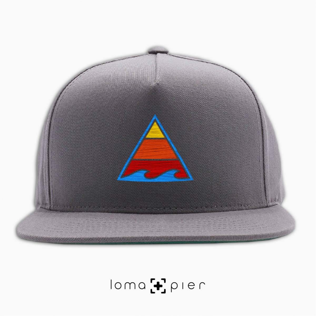 RIDE THAT WAVE hat in grey by loma+pier hat store