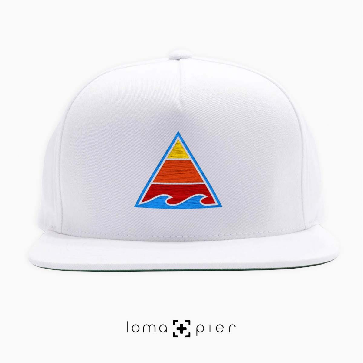 RIDE THAT WAVE hat in white by loma+pier hat store