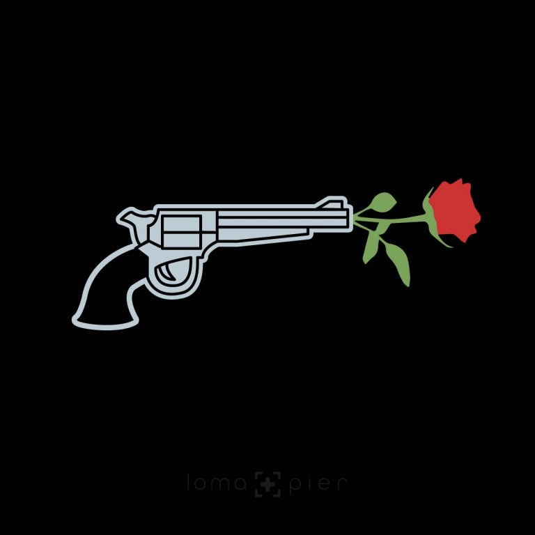 ROSE REVOLVER ​design by loma+pier