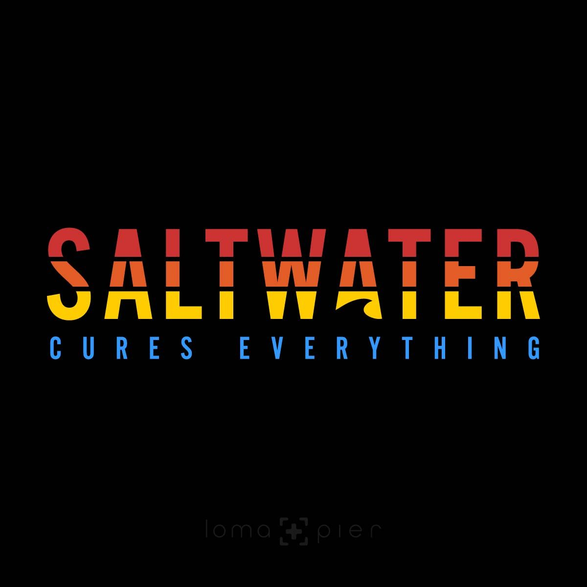 SALTWATER CURES EVERYTHING design by loma+pier hat store