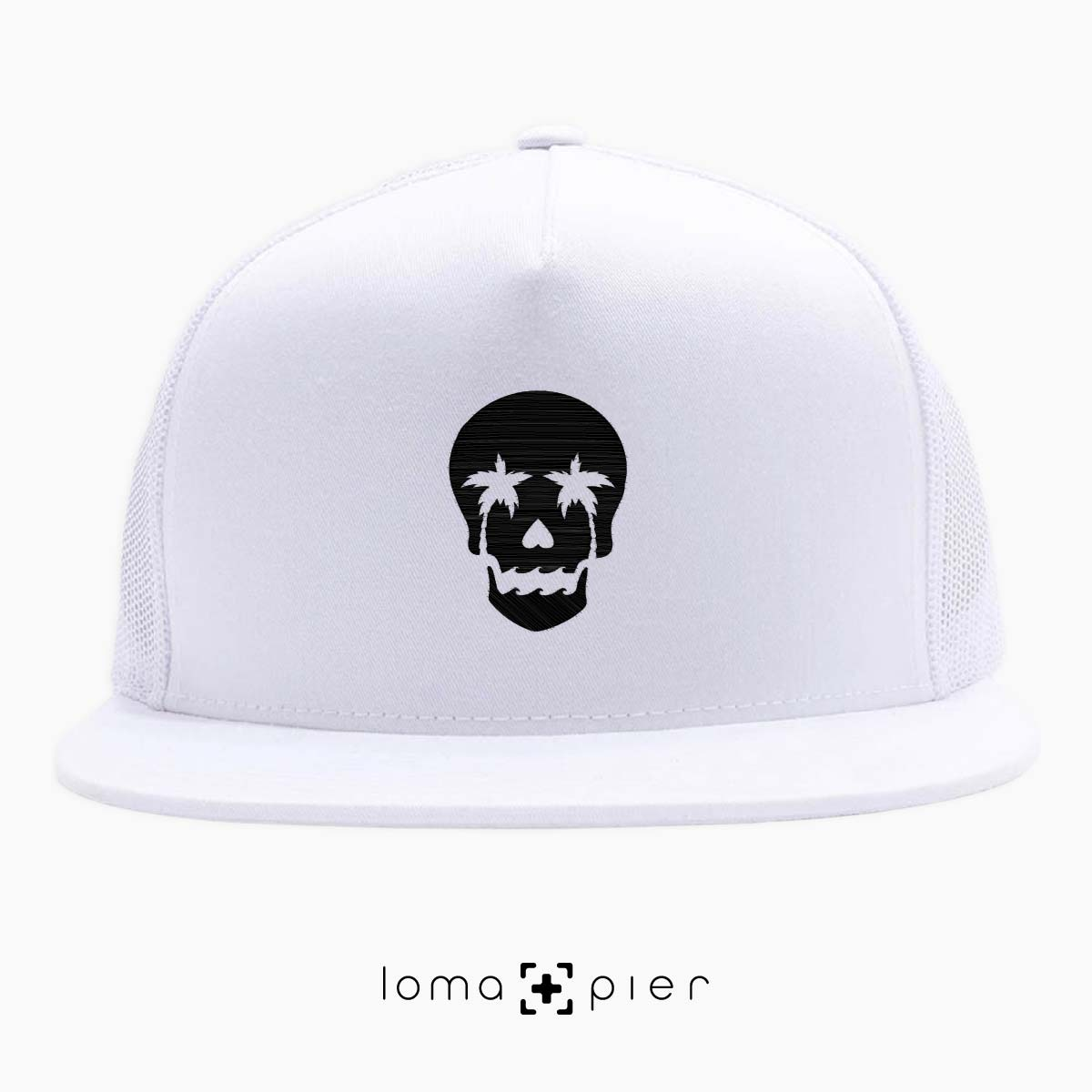 SKULL ISLAND icon netback hat by loma and pier hat shop
