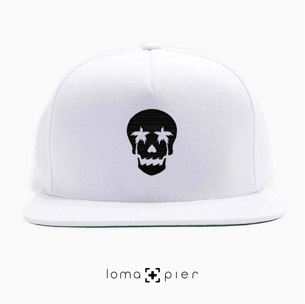 SKULL ISLAND icon snapback hat by loma and pier hat shop