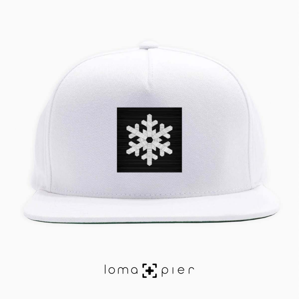 SNOWFLAKE icon hat in white by loma+pier hat store
