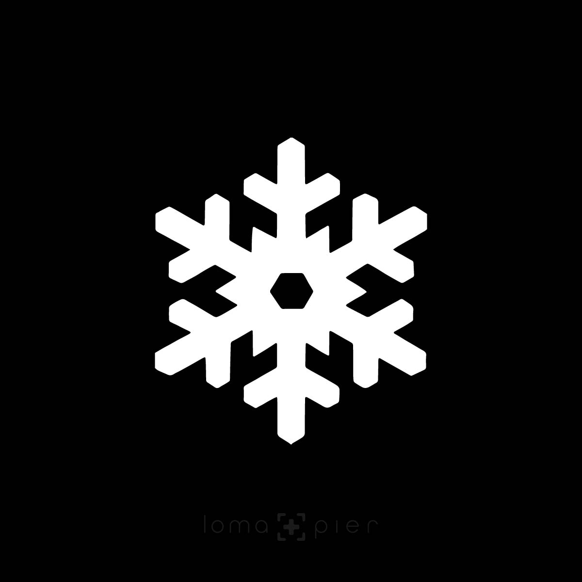 SNOWFLAKE icon hat design by loma+pier