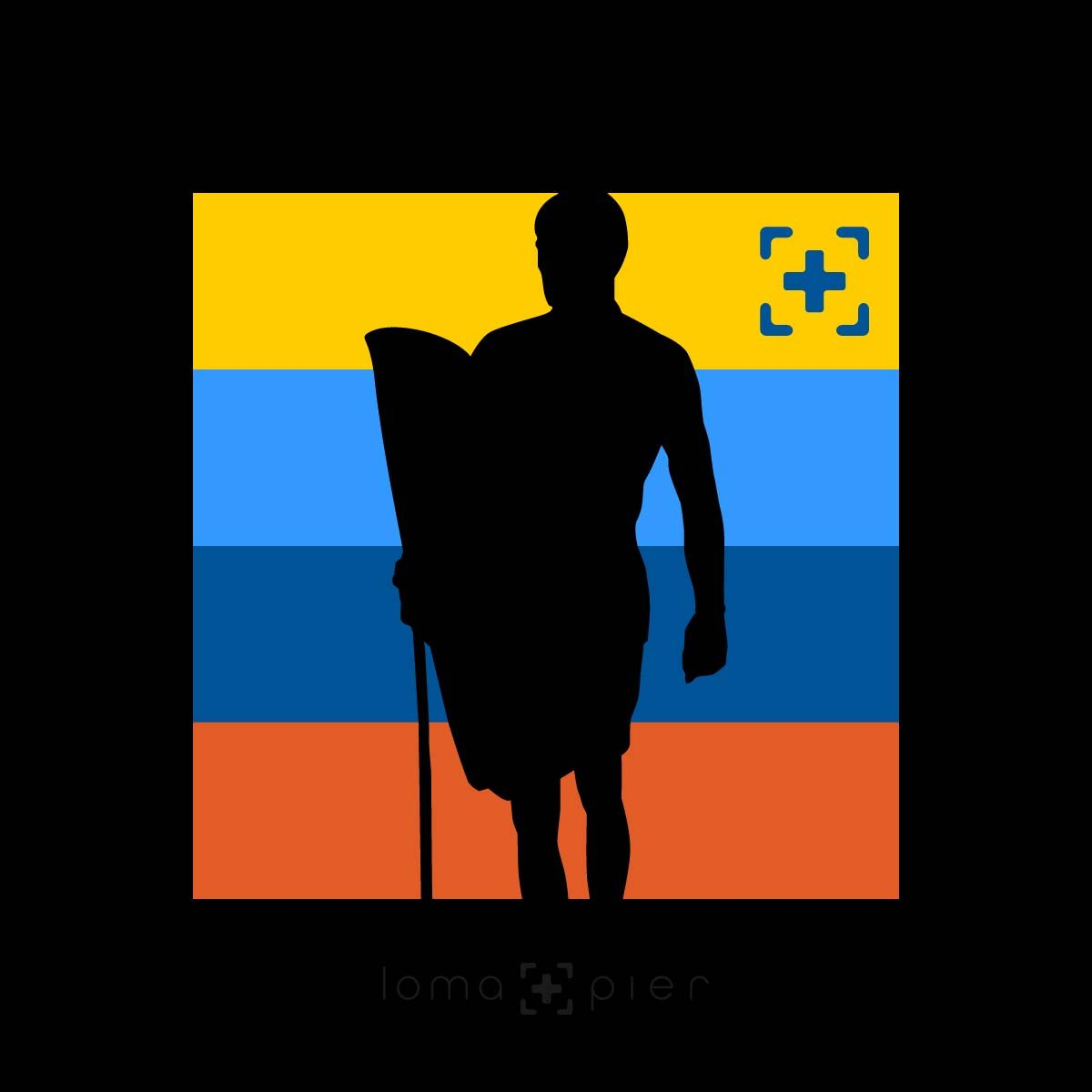 SON OF A BEACH surfer icon design by loma+pier hat store