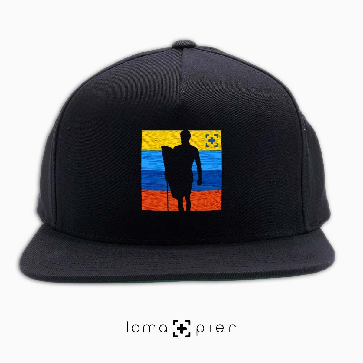 SON OF A BEACH surfer hat in black by loma+pier hat store