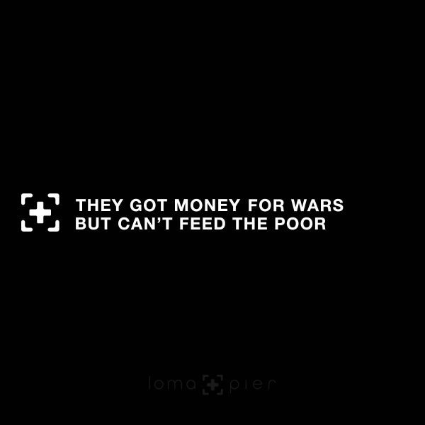MONEY FOR WAR