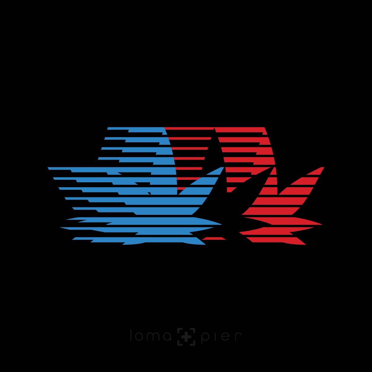 WEED retro OLYMPICS design by loma+pier hat shop